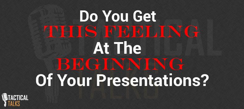 Public Speaking feeling
