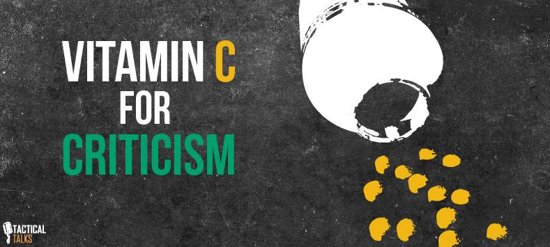 Criticism Public Speaking - Tactical Talks
