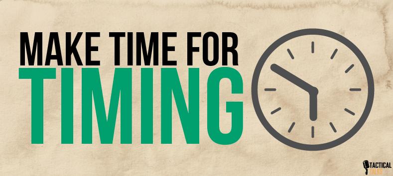 time - public speaking - timing