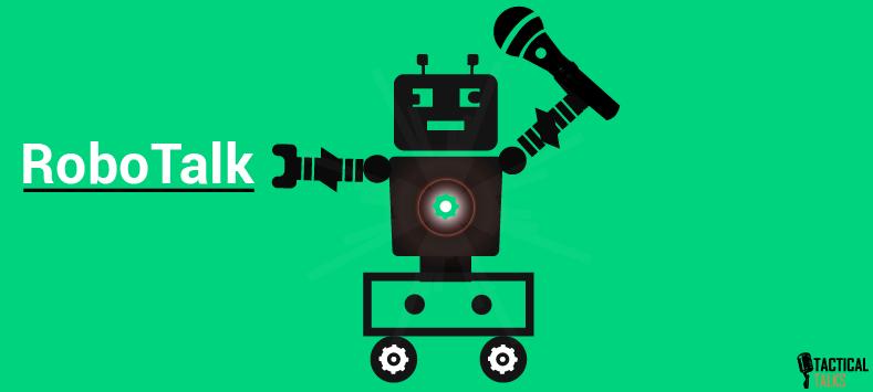 robot voice - public speaking