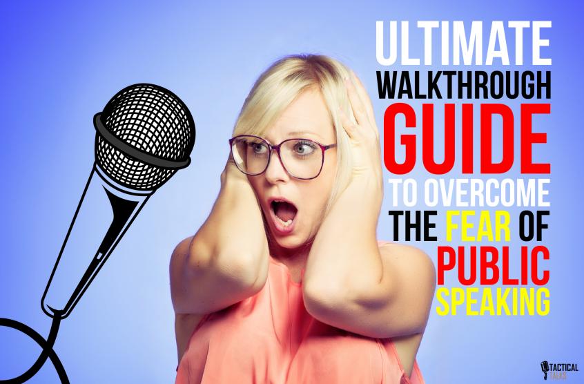 walkthrough guide public speaking tactical talks ultimate matt kramer fear