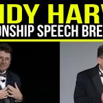 Speech Breakdown: 2004 Champion of Public Speaking: Randy Harvey